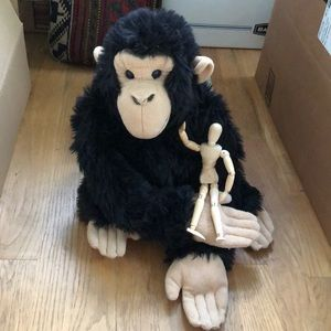 13 inch Wild Republic Plush Gorilla